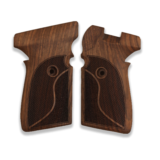 Sig Sauer P239 Model Compatible Walnut Grip for Replacement (with Half Pattern)