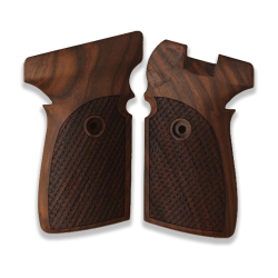Sig Sauer P239 Model Compatible Walnut Grip for Replacement (with Python Pattern)