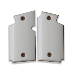 Sig Sauer P938 Model Compatible White Acrylic Grip for Replacement