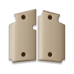 Sig Sauer P938 Model Compatible Ivory Acrylic Grip for Replacement