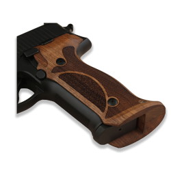 Sig Sauer P226 Model Compatible Walnut Target Grip for Replacement (with Half Pattern)