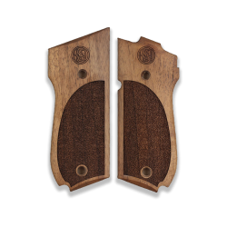 Smith Wesson 39 / 52 / 439 / 539 / 639 Model Compatible Walnut Grip For Replacement