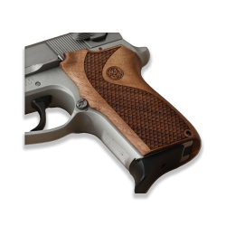 Smith Wesson 6906 Model Compatible Walnut Grip For Replacement