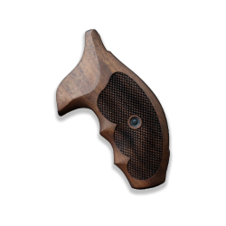 Smith Wesson J Frame Model Compatible Walnut Grip For Replacement