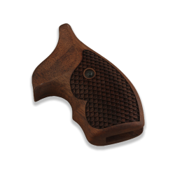 Smith Wesson J Frame Lady Model Compatible Walnut Grip For Replacement