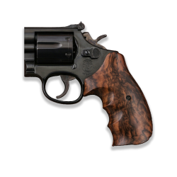 Smith Wesson N Frame Model Compatible Root Walnut Grip For Replacement