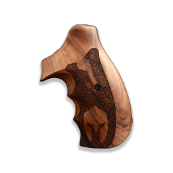 Smith Wesson N Frame Model Compatible Walnut Grip For Replacement