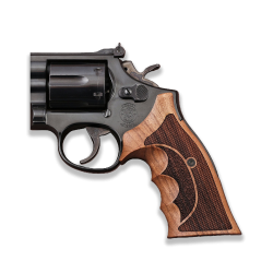 Smith Wesson .460 .500 X Frame Model Compatible Openback Walnut Grip For Replacement