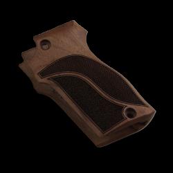 Unique 7,65 Model Compatible Walnut Grip for Replacement, with Half Pattern Grip For Replacement