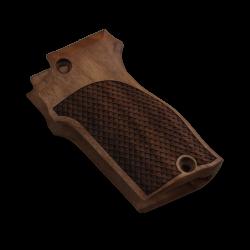 Unique 7,65 Model Compatible Walnut Grip for Replacement, with Python Pattern Grip For Replacement