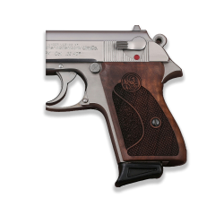 Walther PPK American (Interarms) Made Compatible Walnut Grip for Replacement, with Half Pattern