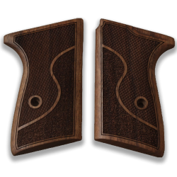 Walther PPK/S Model Compatible Walnut Grip for Replacement