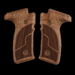 Zastava EZ9 / EZ40 Model Compatible Walnut Grip for Replacement (with Half Pattern)