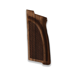 Browning HP-DA / BDA9 Model Compatible Walnut Grip for Replacement (with Python Pattern)