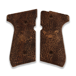 Beretta 92/96/98/M9 Full Size Model Compatible Grip Walnut Grip for Replacement
