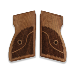 Browning SLP 1 / 7,65 Model Compatible Walnut Grip for Replacement (with Half Pattern)