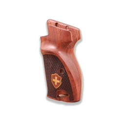 SIG P210 Black Walnut S Heavy Frame P210-5 / P210-6 (with lanyard ring) Model Compatible Walnut Grip for Replacement