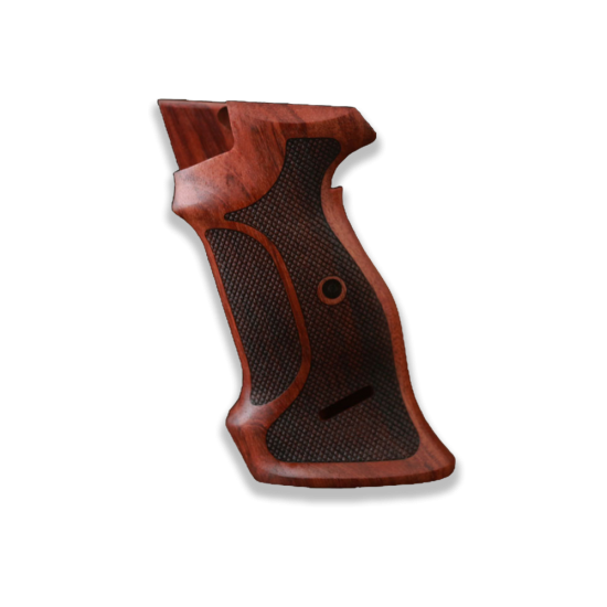 SIG P210 Target S Heavy Frame P210-5 / P210-6 Model (with lanyard ring) Compatible Rosewood Grip for Replacement
