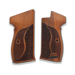 SIG P210 Heavy Frame P210-1 / P210-4 / P210-5 / P210-6 / DK-M49 Model Compatible Walnut Grip for Replacement (Lanyard Ring)