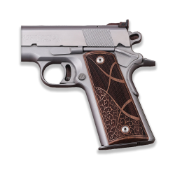 Sig Sauer 1911 1911 FIT Model Les Baer, Nowlin, Springfield, Kimber Model Compatible Walnut Grip for Replacement