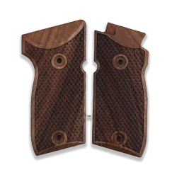 Astra A75 Model Compatible Walnut Grip for Replacement with Python Pattern