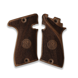 Star Bonifacio Echeverria Model F 22 Compatible Walnut Grip for Replacement (with Relief)