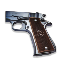 Star Super B Model Compatible Walnut Grip for Replacement (with Logo)