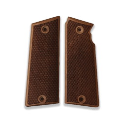 Star Super B Model Compatible Walnut Grip for Replacement (with Python Pattern)