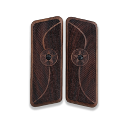 TOKAREV TT 33 Long 9mm Model Compatible Walnut Grip for Replacement (with Half Pattern & C.C.C.P. Star Relief)