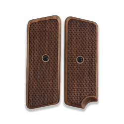 TOKAREV M 57 Landyard Compatible Walnut Grip for Replacement (with Python Pattern)